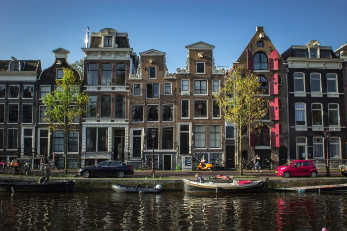 Flodbåd i Holland